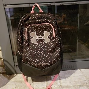 UA Storm backpack with laptop pouch gently used